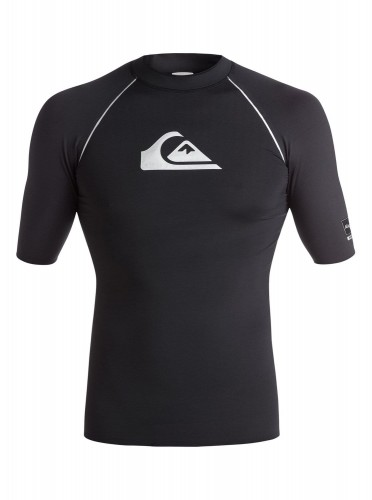 LYCRA Quiksilver All Time Bonded Rashguard BLACK