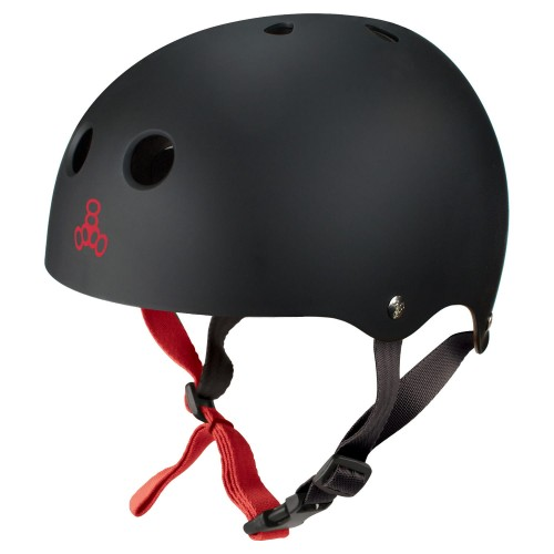 KASK TRIPLE8 BLACK RUBBER